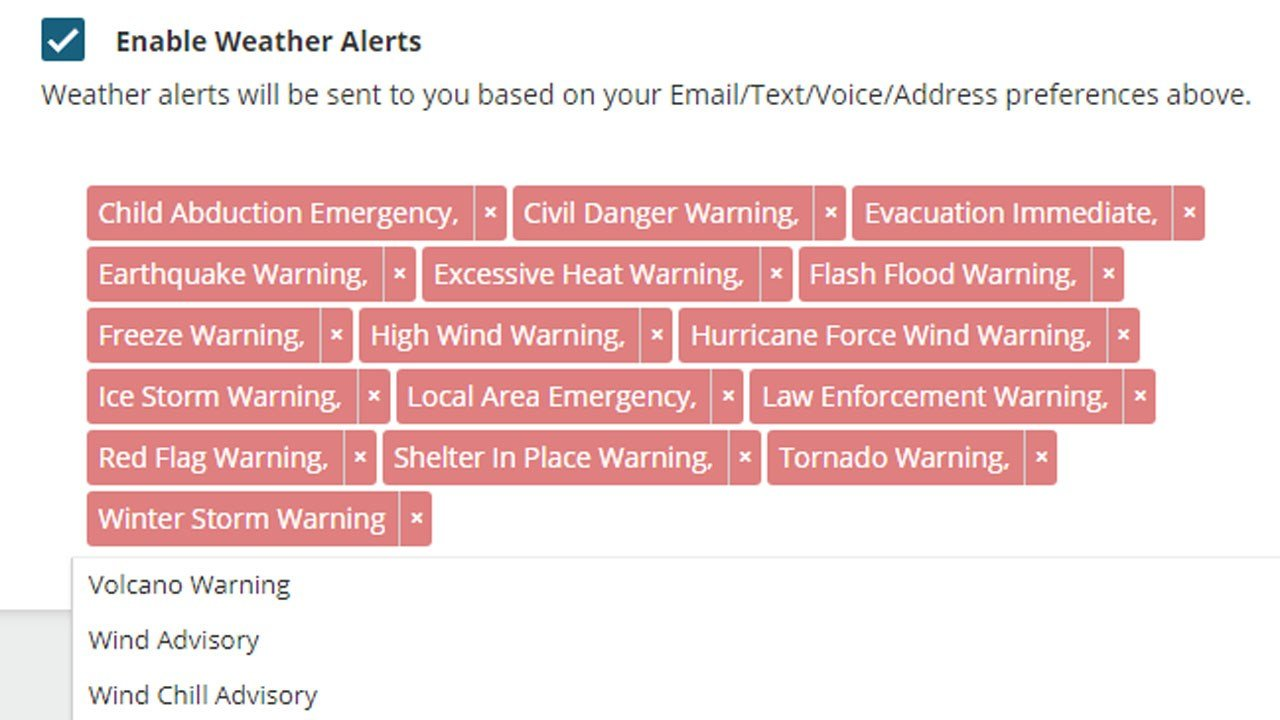 Ada residents can receive alerts for a wide variety of emergency situations. (KTEN)