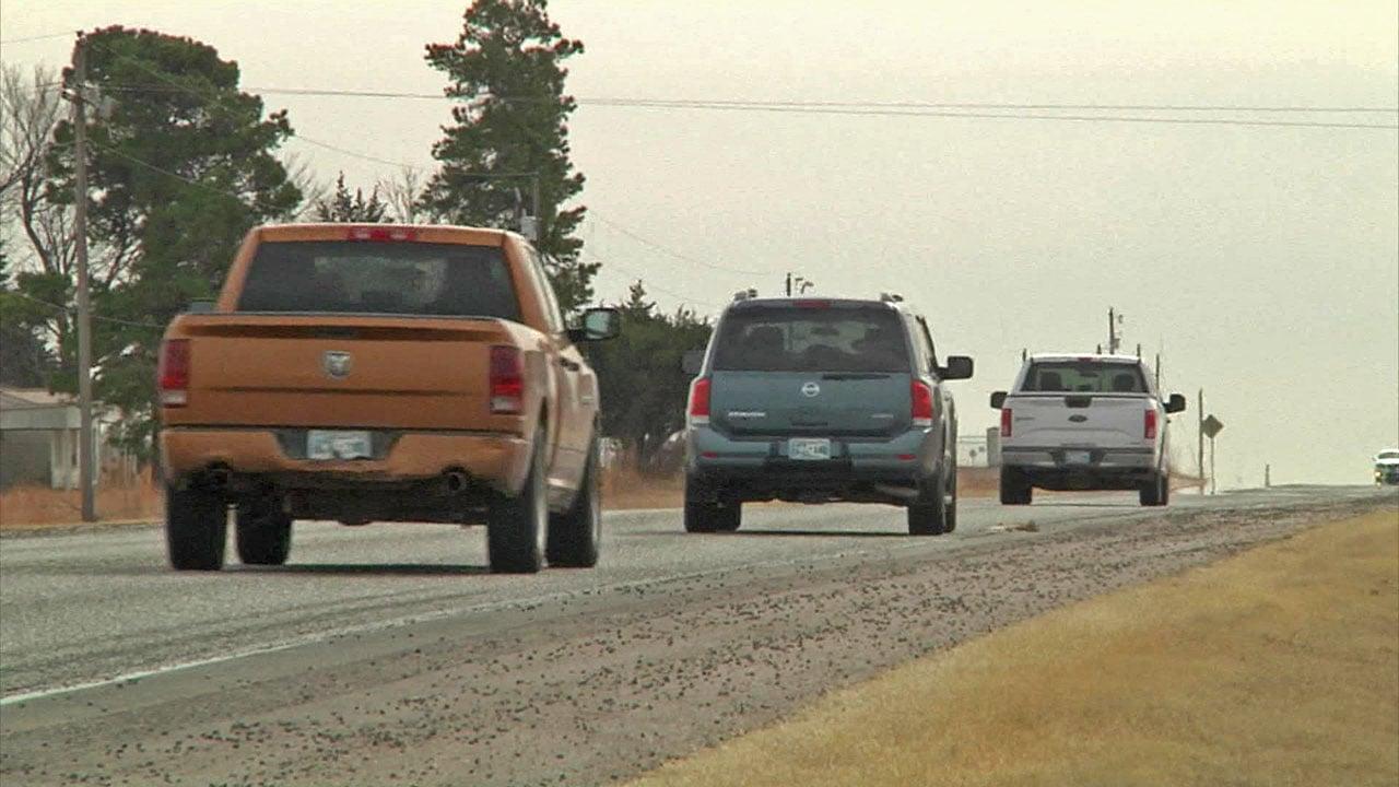 Drivers are warned about speeding on Highway 3W near Ada. (KTEN)