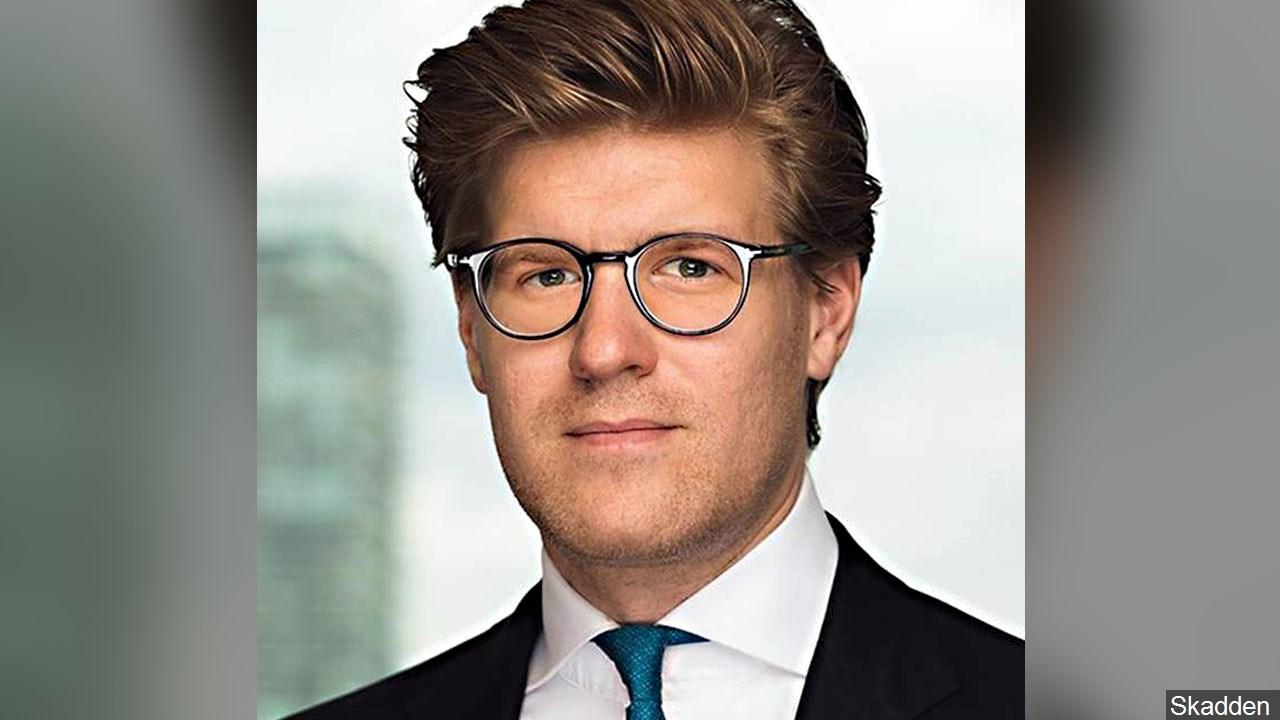 Alex van der Zwaan (Photo: Skadden)