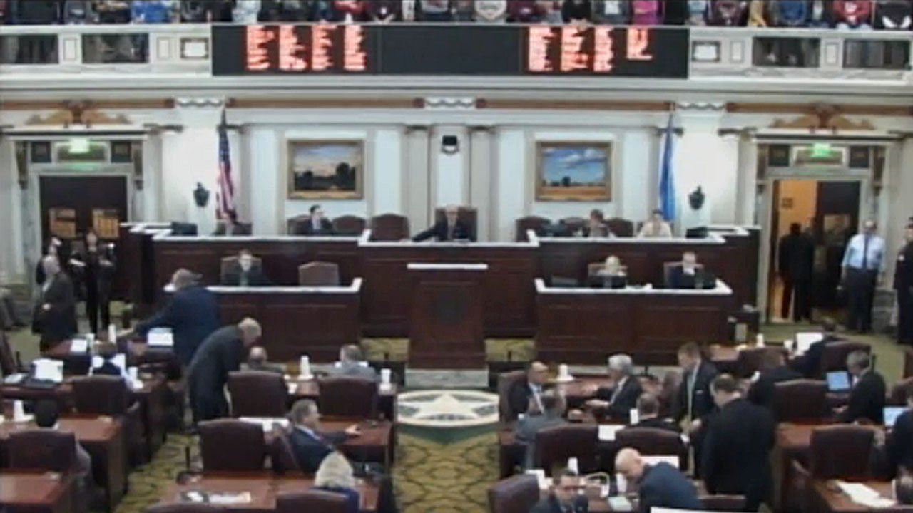 The Oklahoma House voted to pass a $20 million internet sales tax measure. (