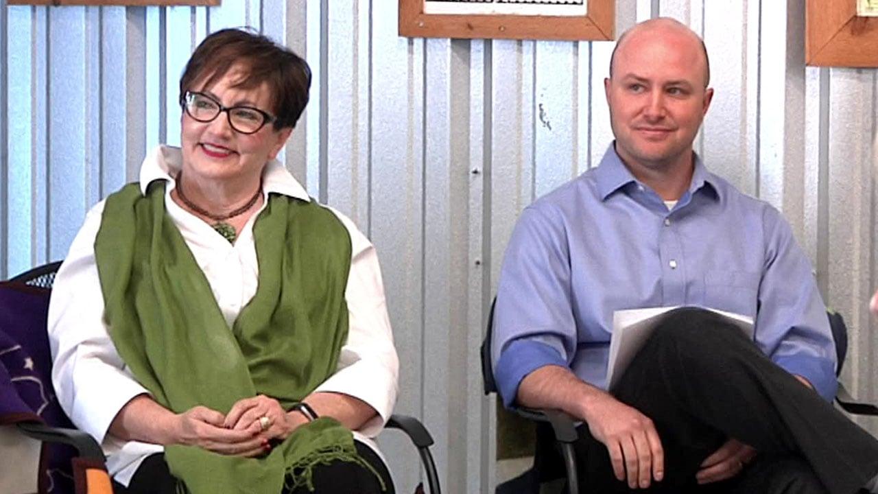 Democrats Cheryl Key and Justin Arledge are running for the Oklahoma Legislature. (KTEN)