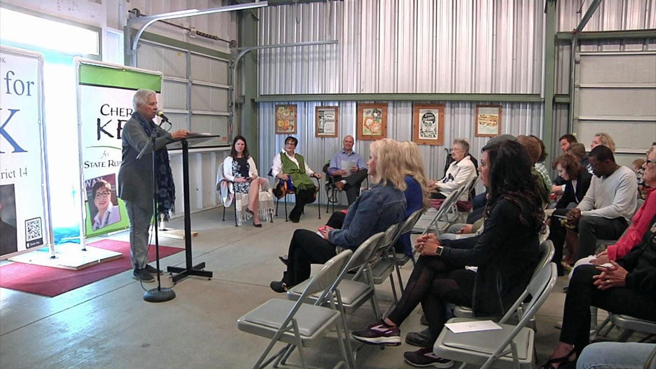 Democrats in Ardmore met two new legislative candidates on Thursday. (KTEN)