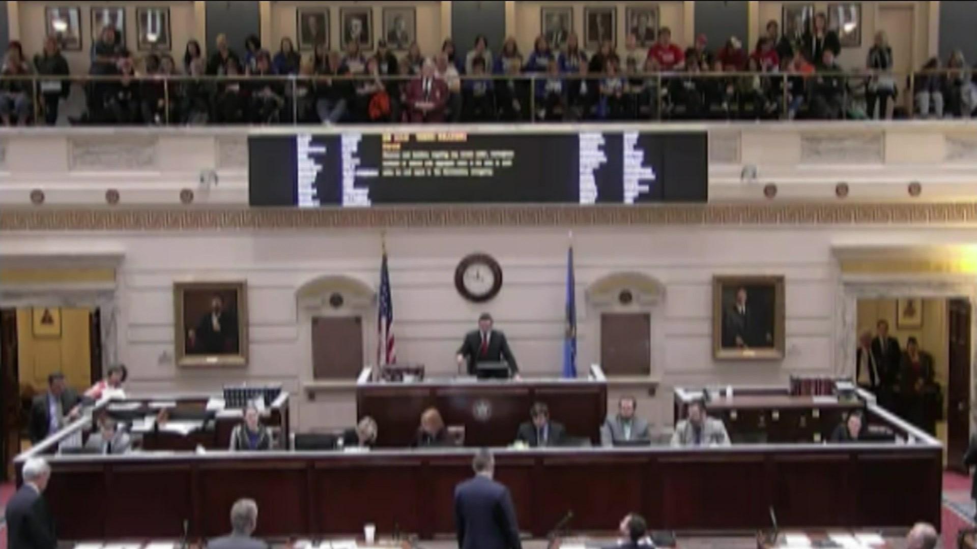 The Oklahoma Senate approved two education funding bills on Friday. (Photo: Oklahoma Legislature)