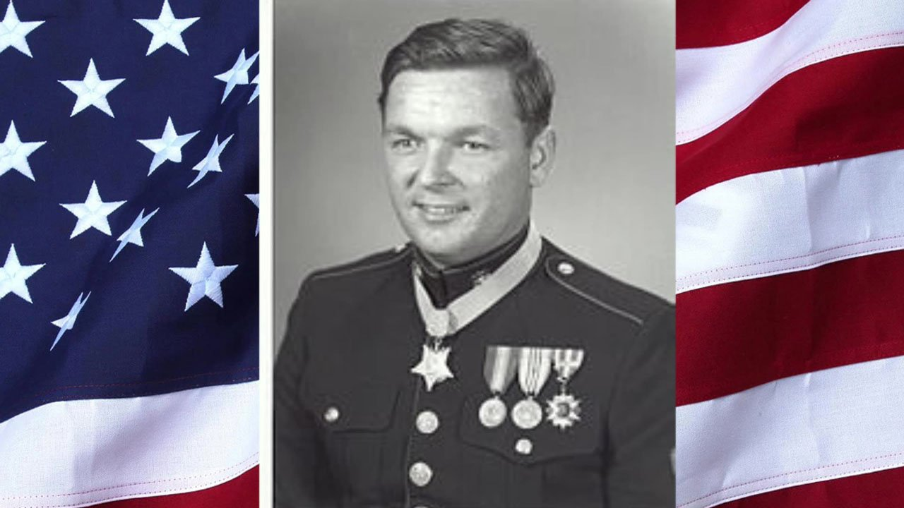 U.S. Marines Master Sgt. Rick Pittman received the Medal of Honor for his valor during the Vietnam War.