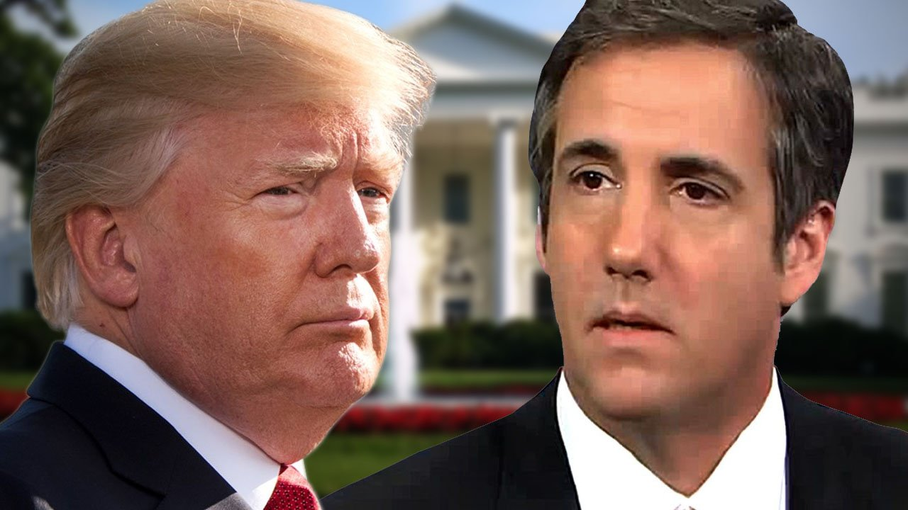 President Trump and attorney Michael Cohen. (Department of Defense/CNN/Pixabay)