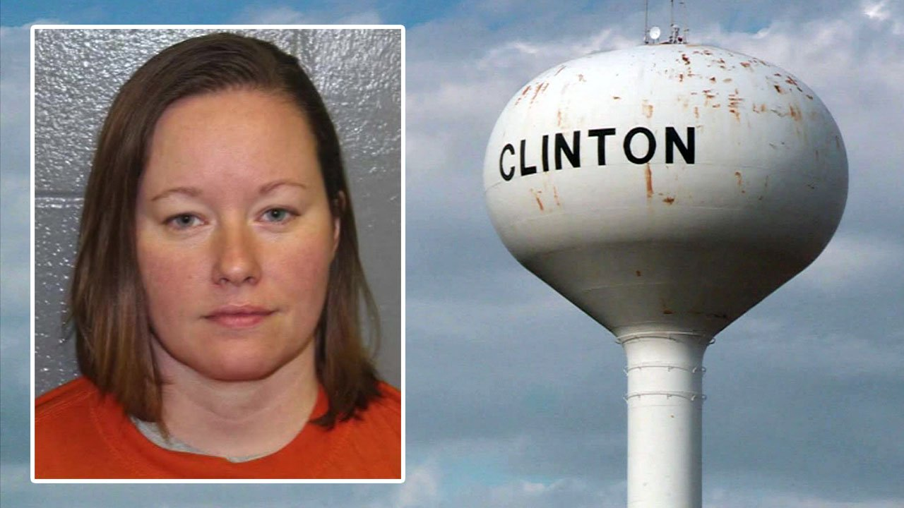 Clinton Public Schools teacher Keri Hoffman was charged with two counts of second-degree rape.