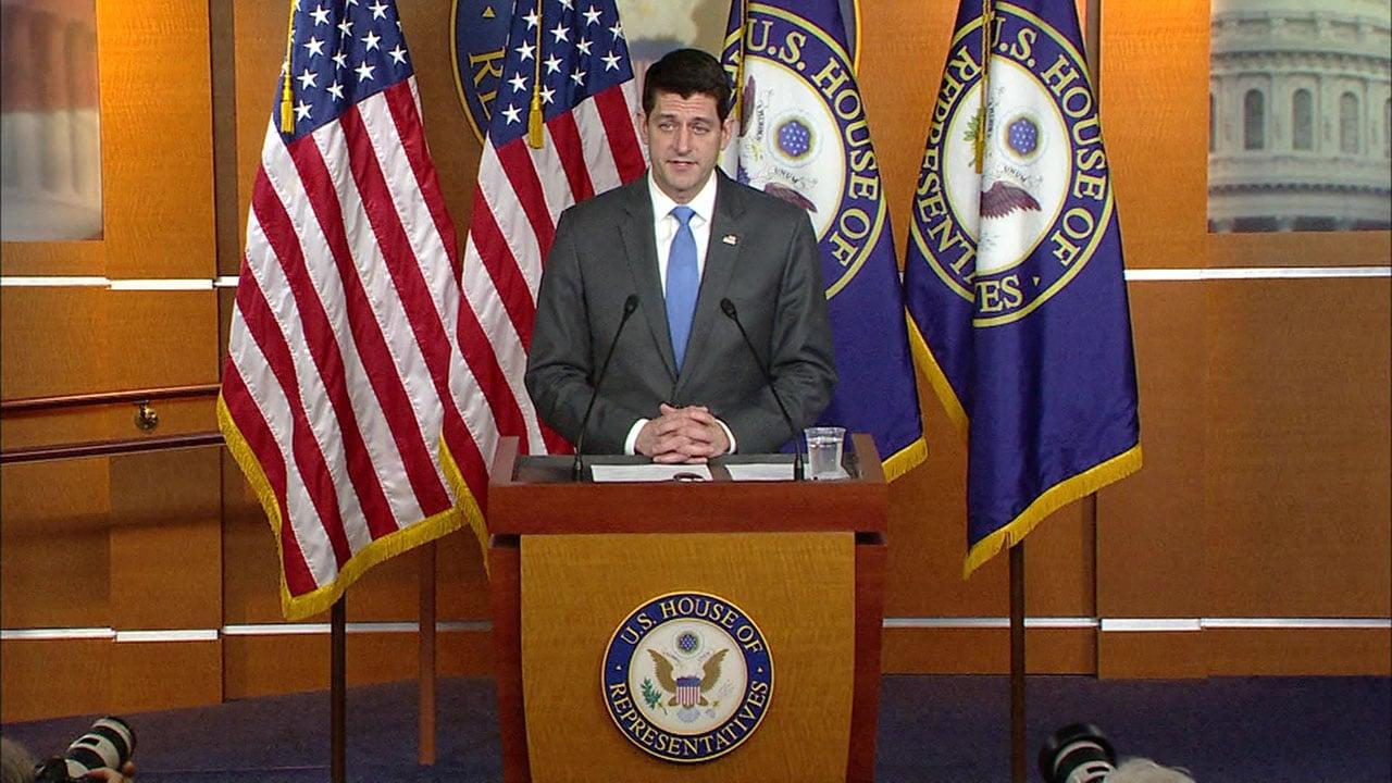 House Speaker Paul Ryan announces he will not seek re-election. (CNN)