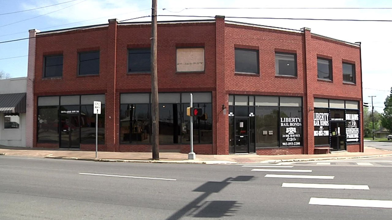 The century-old Porterfield Building in Sherman is getting a new lease on life. (KTEN)