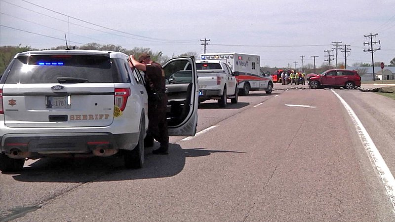 State Highway 3W was closed for more than three hours following the fatal accident. (KTEN)