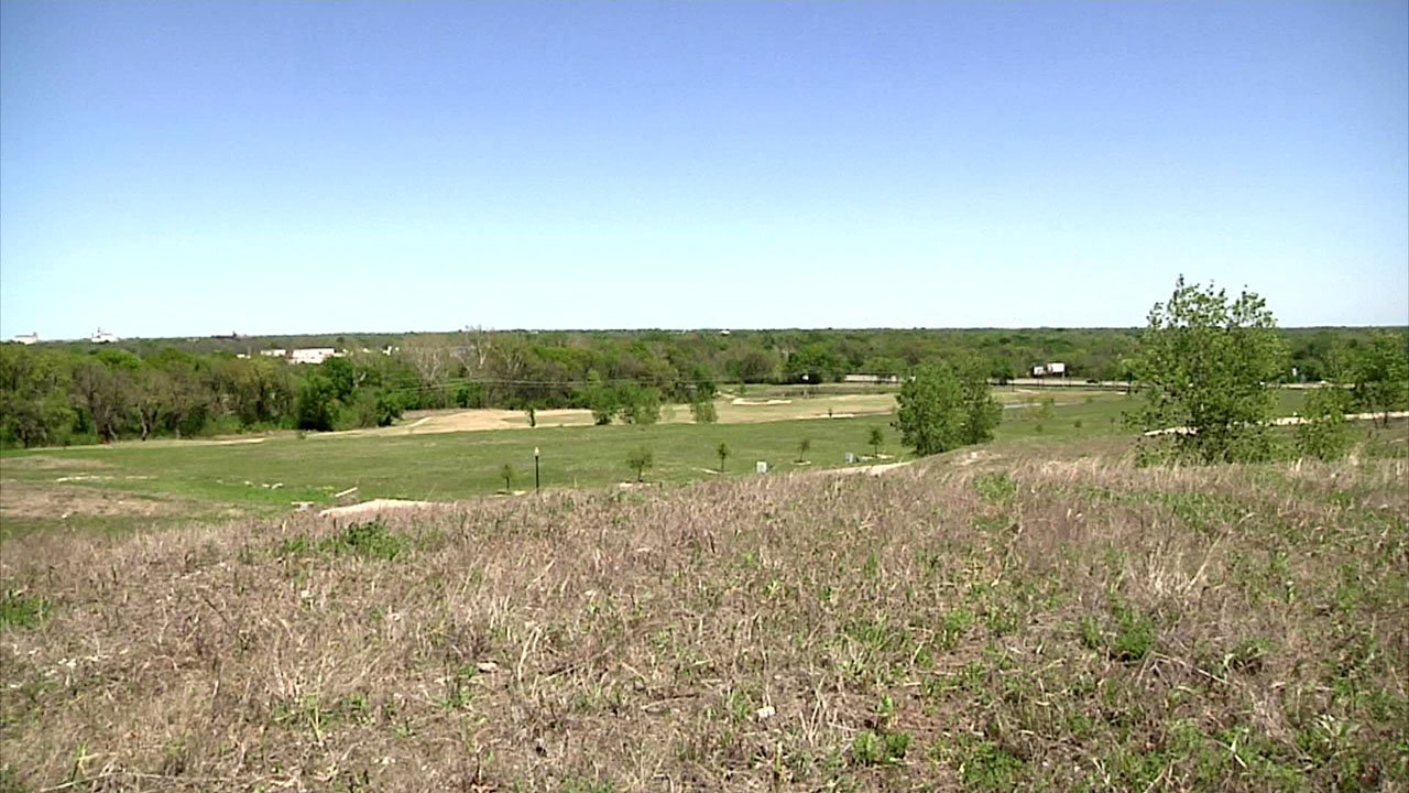 Sherman has approved apartments for this site adjacent to the Stone Creek Country Club. (KTEN)