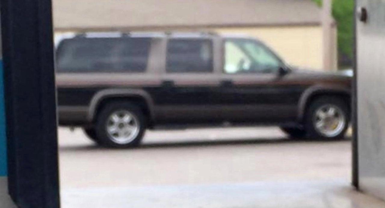 This minivan raised suspicions in Ardmore. (Courtesy)