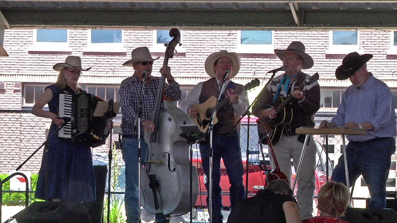 A musical performance at the 2018 Cowboy Way MayFest in Ardmore. (KTEN)