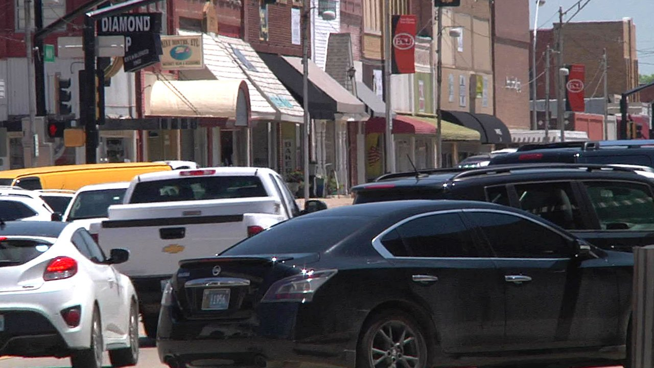 Downtown Ada will be the scene of the city's first Armed Forces Day parade on May 19, 2018. (KTEN)