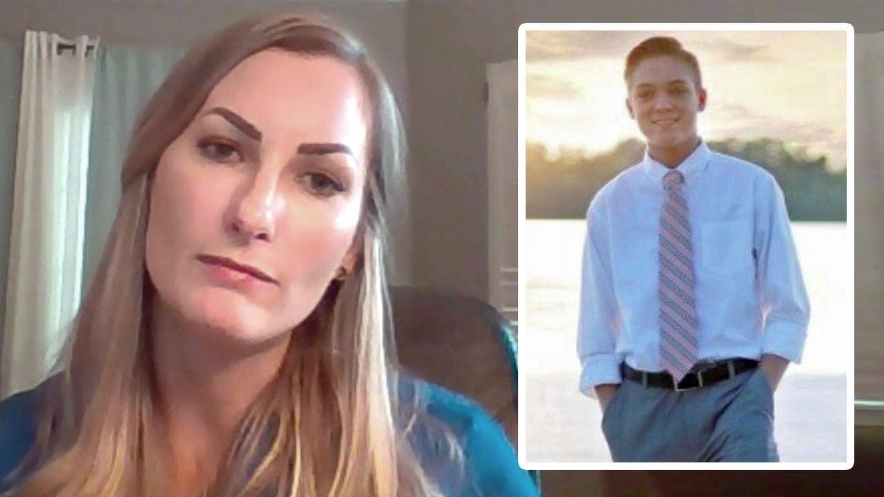 Jessica Hagewood's son was at Santa Fe High School when gunfire erupted on May 18, 2018. (KTEN)