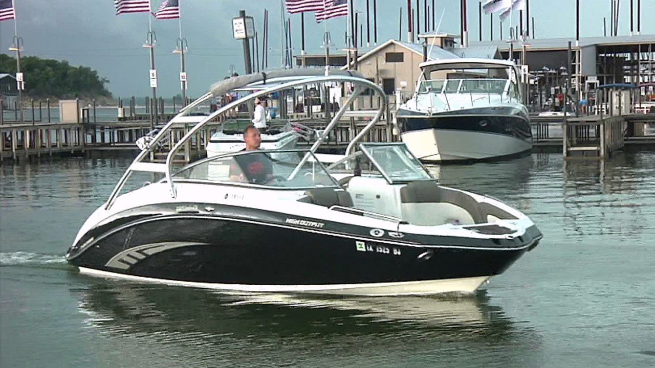 Memorial Day weekend is a busy time on Lake Texoma. (KTEN)