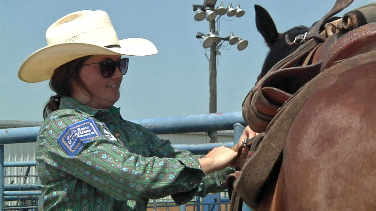 The SOSU Women's Rodeo Team is on its way to Nationals. (KTEN)