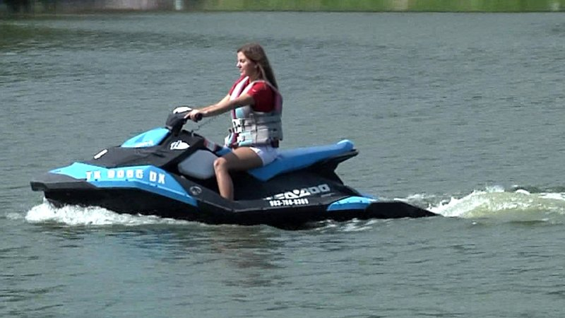Want to try a personal watercraft? They're available for rent at Highport Marina. (KTEN)