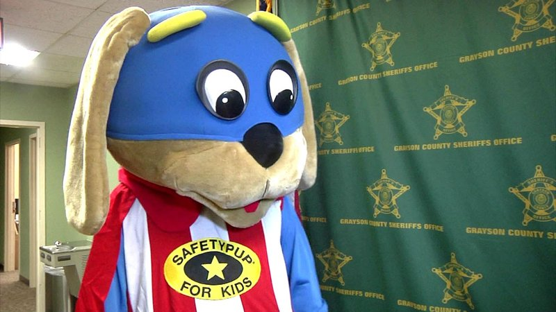 Appearances of Safetypup are underwritten by contributions from Grayson County businesses. (KTEN)