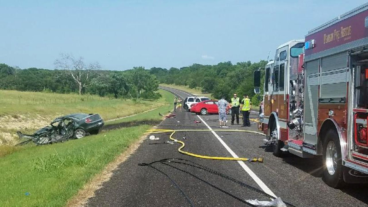 A man was seriously injured in a head-on collision in Denison on June 13, 2018. (KTEN)