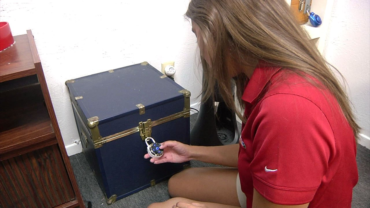 Clues can be found anywhere in the Downtown Escape Rooms. (KTEN)