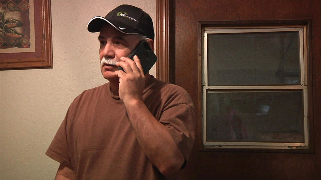 Ada resident Don Gore, who is blind, is looking for a job. (KTEN)