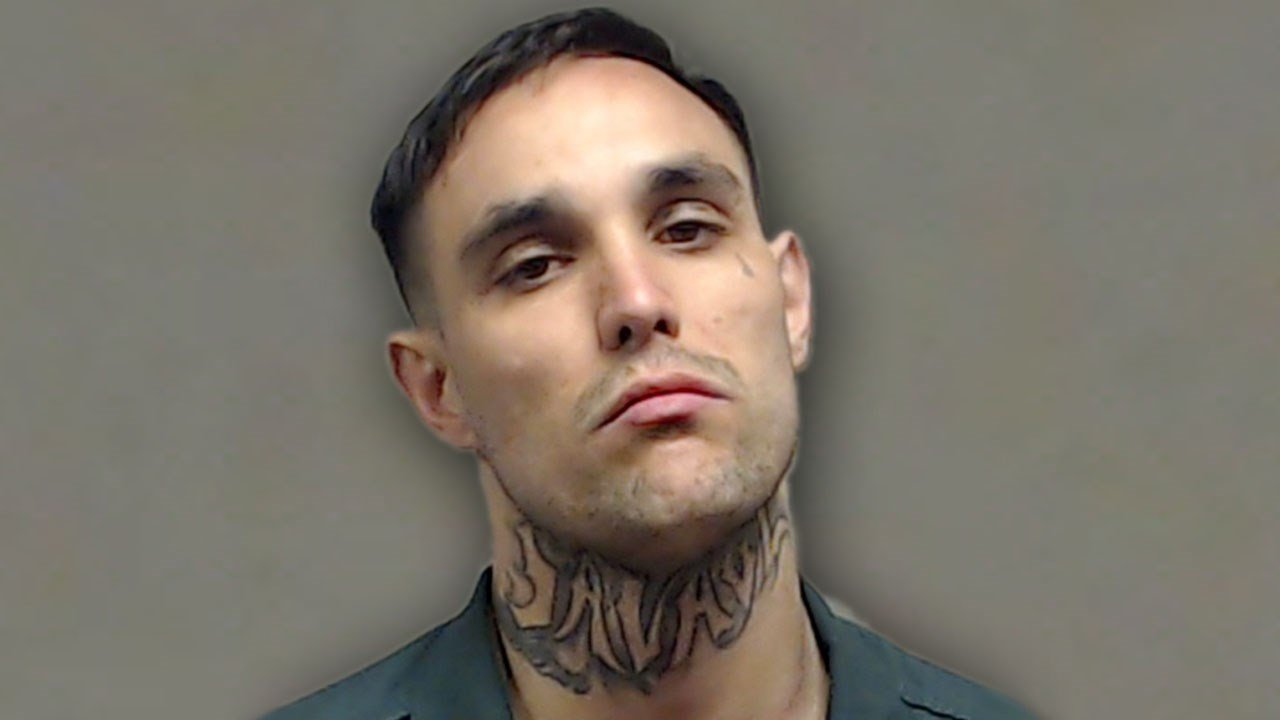 Garrett Morott was arrested after a high-speed pursuit through Collin and Grayson counties on July 2, 2018. (Collin County Jail)