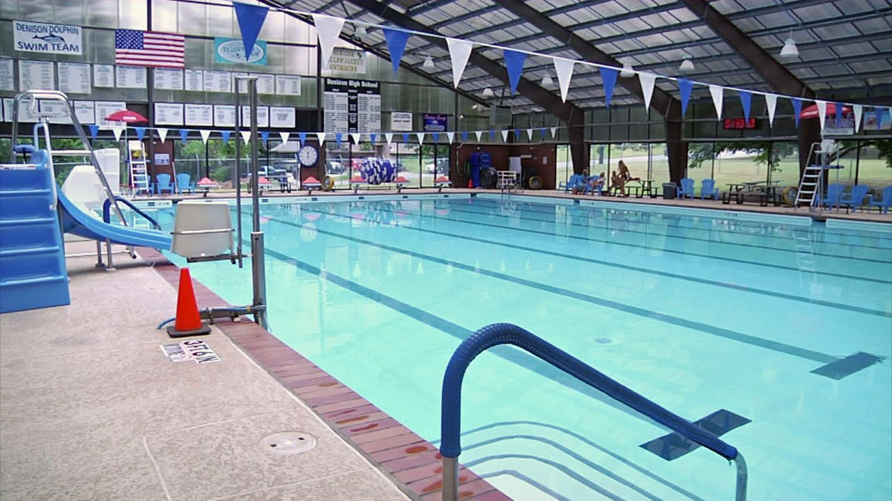 Denison's Waterloo Pool dates back to 1965. (KTEN)`