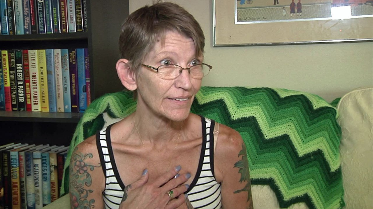 Sue Kibby of Sherman suffers from two rare diseases. (KTEN)