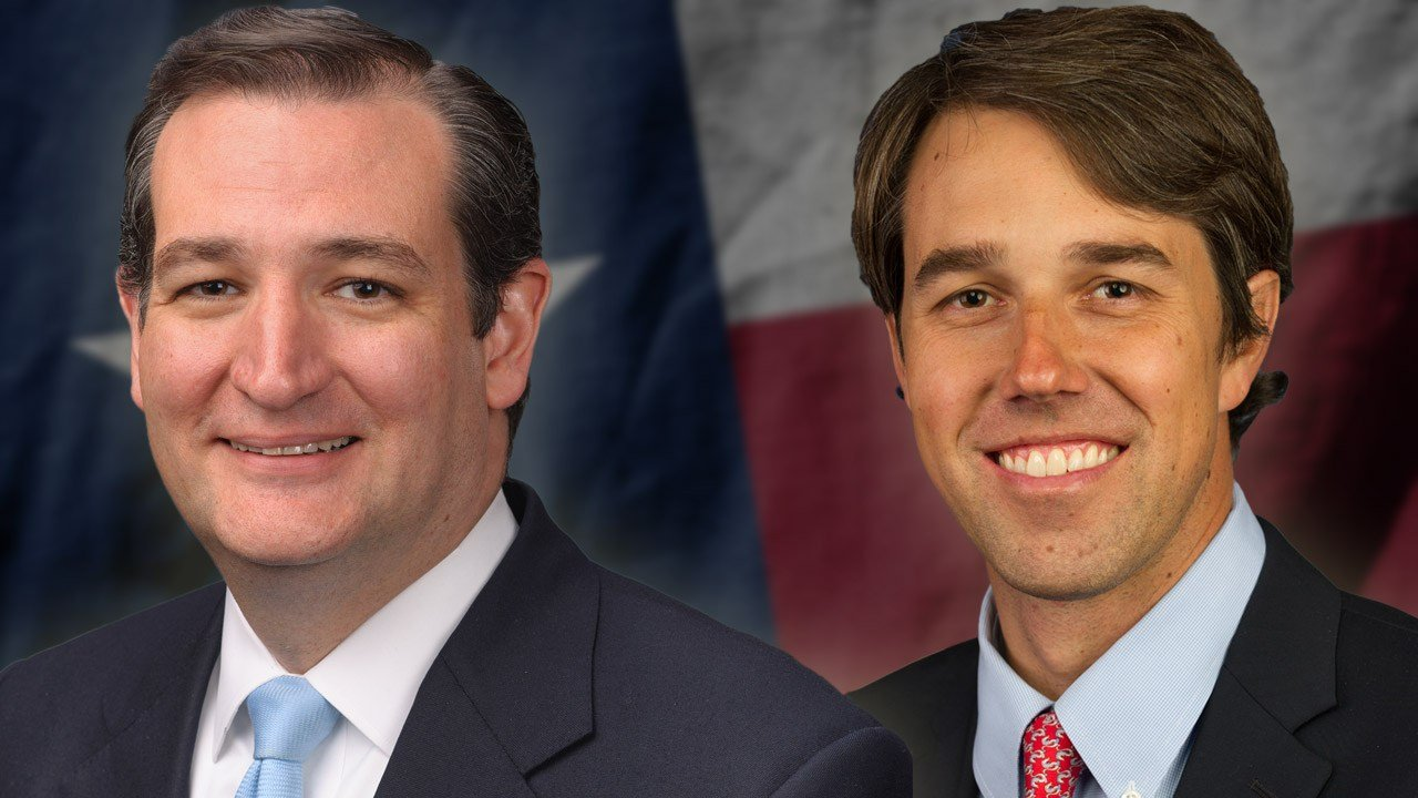 Texas Sen. Ted Cruz and Texas Rep. Beto O'Rourke. (KTEN)