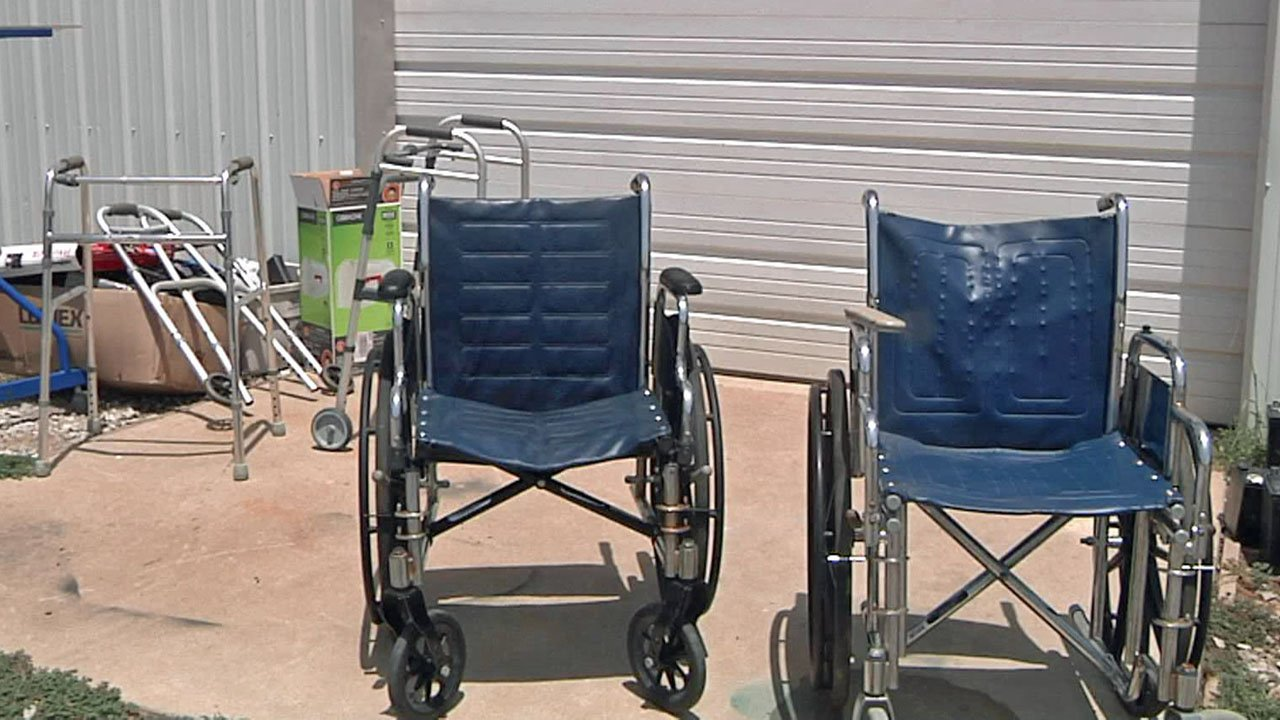 MEAP offers wheelchairs and other medical equipment without charge. (KTEN)