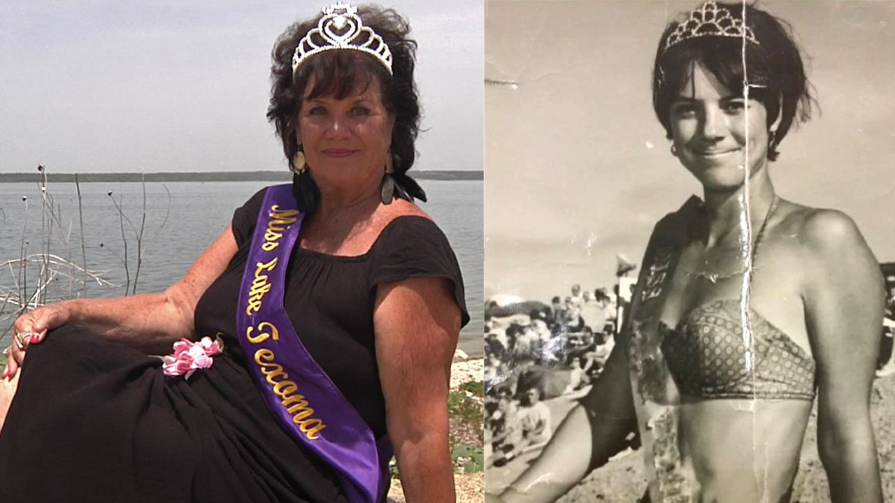 Pam Daniel has been Miss Lake Texoma since 1966. (KTEN)