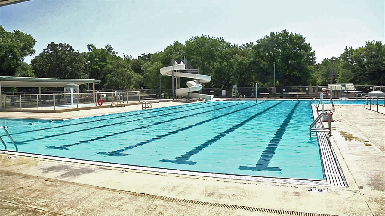 The City of Durant closed its swimming pool due to the ongoing Excessive Heat Warning. (KTEN)
