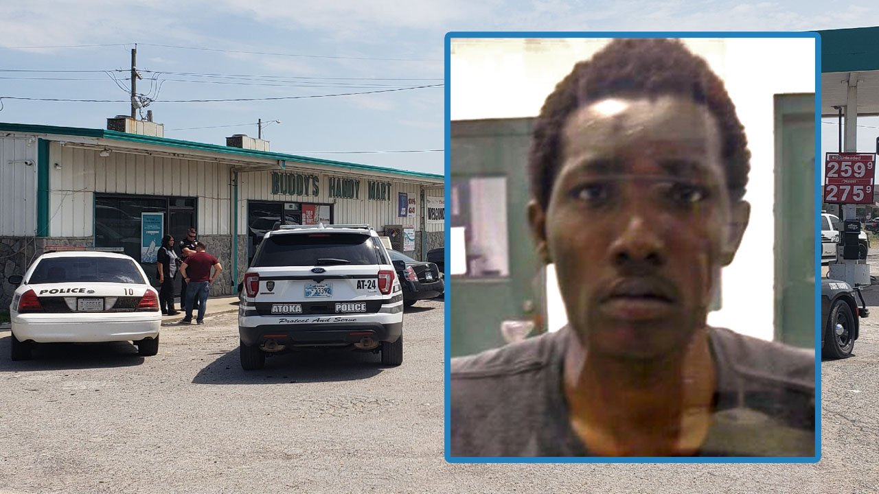 Jimuntez Hill is charged in connection with the shooting of a clerk at Buddy's Handy Mart in Atoka on July 23, 2018. (KTEN)