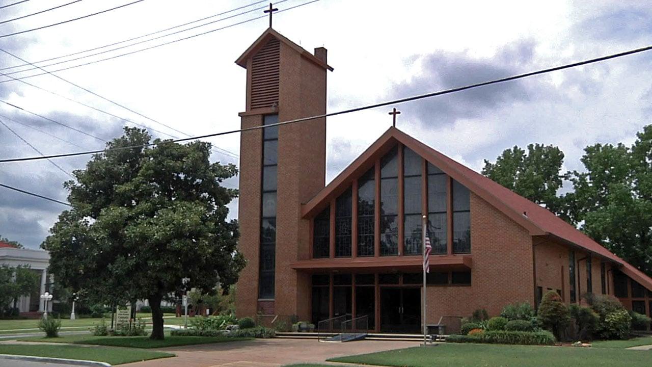 St. Mary Catholic Church in Ardmore. (KTEN)