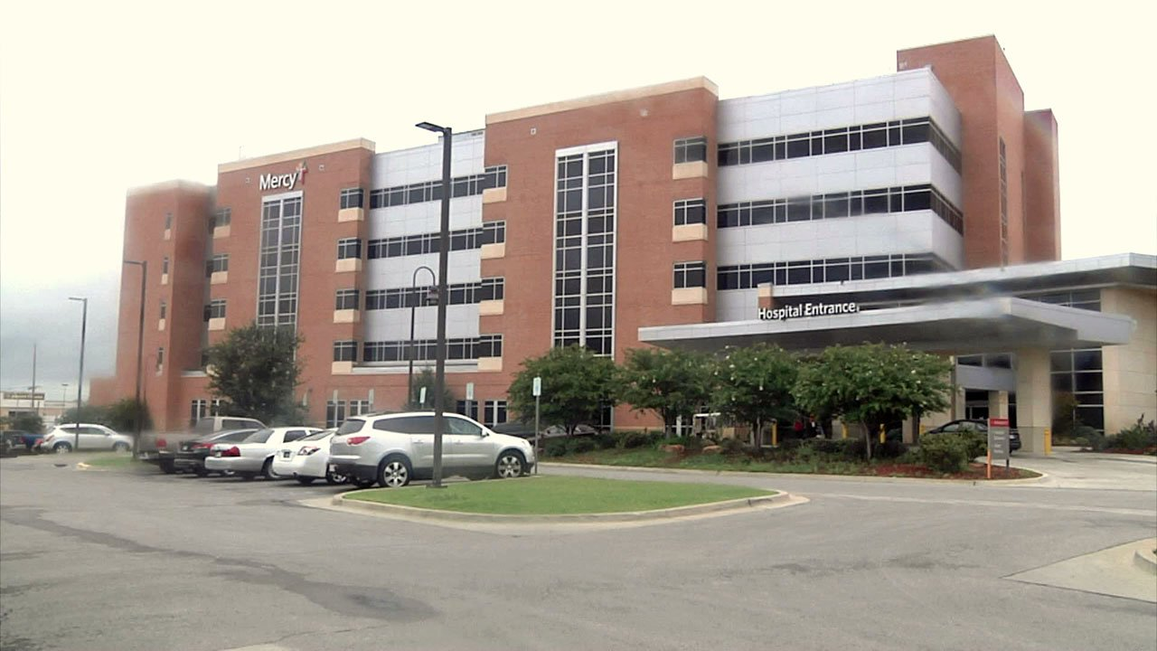 Mercy Hospital in Ardmore. (KTEN)