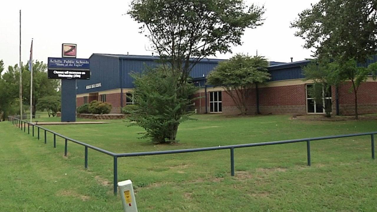 Achille Public Schools were scheduled to reopen on Wednesday. (KTEN)