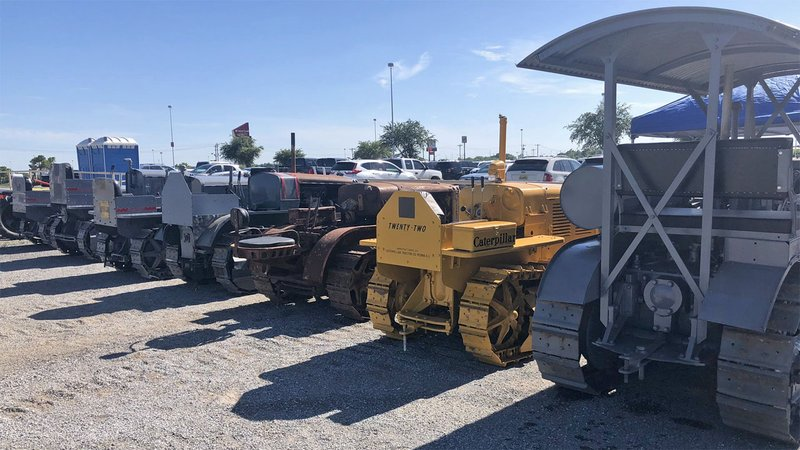 An antique tractor show is part of the 2019 Magnolia Festival in Durant. (KTEN)
