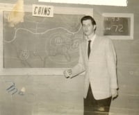 Circa 1959, Weatherman, Rosser McDonald