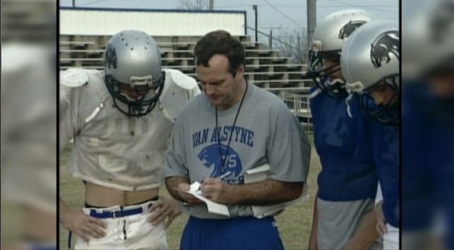 Matthews as head coach at Van Alstyne