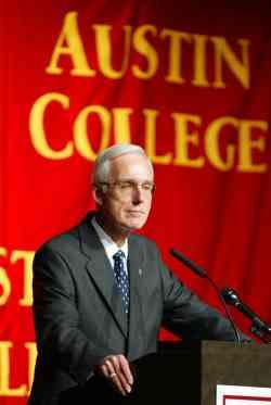 Austin College President Oscar C. Page
