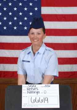 Air Force Airman Kathryn O. Reeves