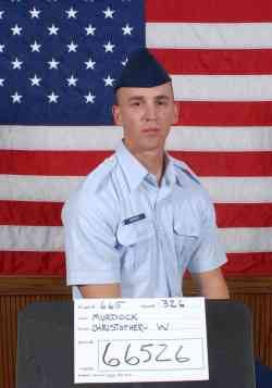 Air Force Airman Christopher W. Murdock