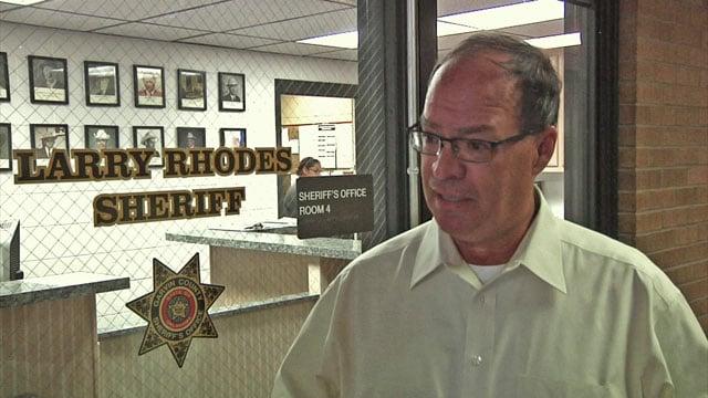 Sheriff Larry Rhodes