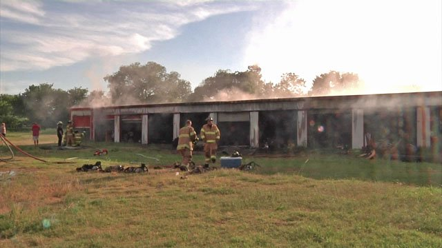 Fire at Ardmore storage facility