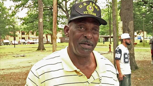 Veteran Clifton Graves