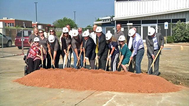 Grayson College Advanced Manufacturing Lab groundbreaking