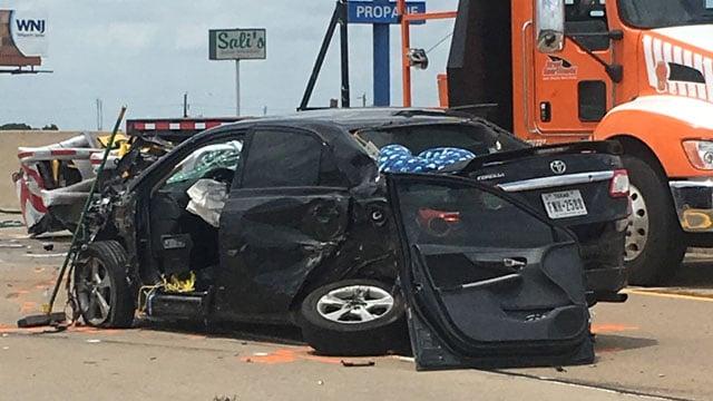 Van Alstyne crash