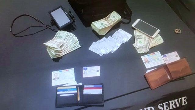 ATM fraud evidence
