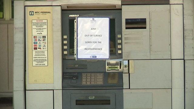 ATM closed