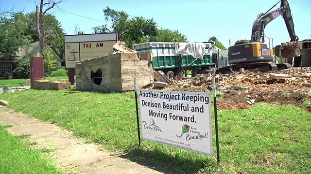 New homes coming on site of former Denison church